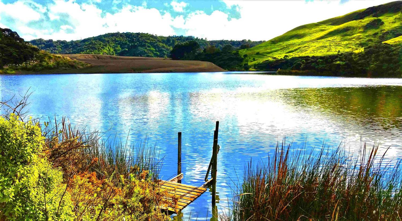 Te Henga, Lake Wainamu, West Auckland, New Zealand