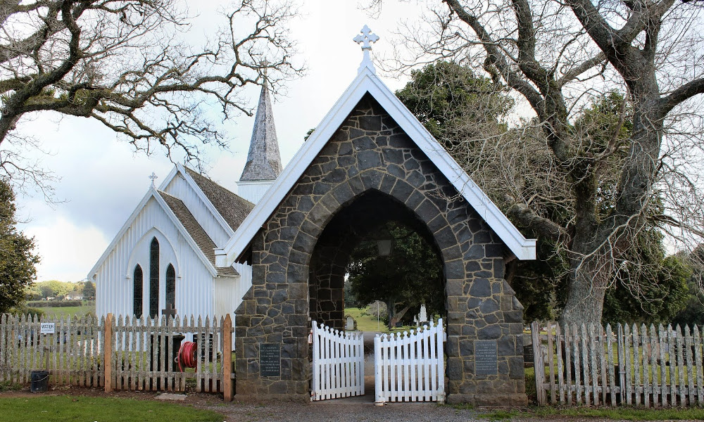 Te Waimate North Church, New Zealand @Amy Franks