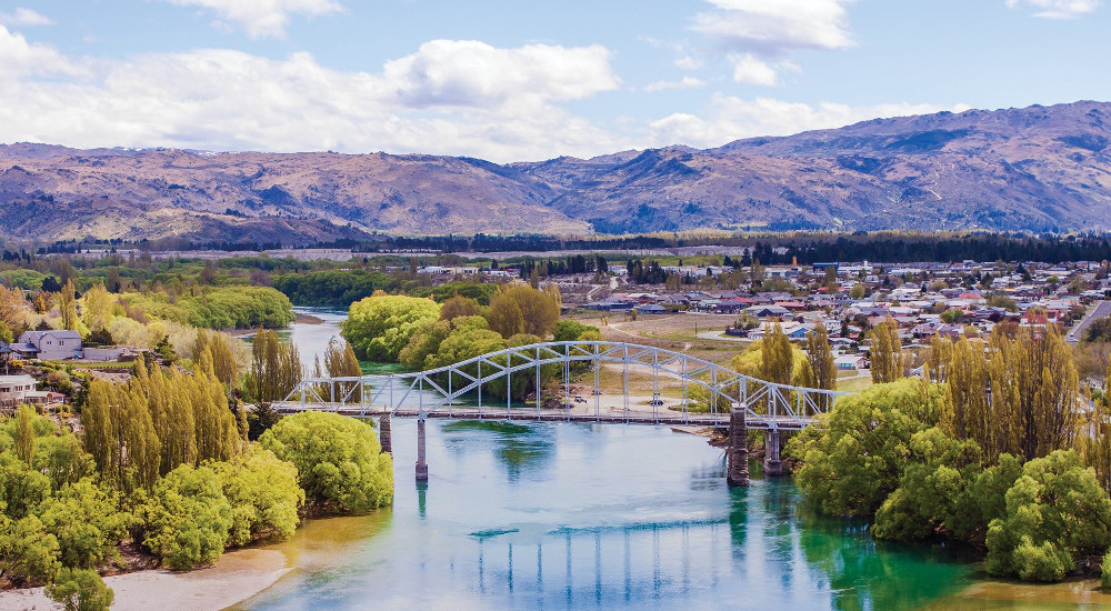 The Clutha River, New Zealand @Postcards NZ