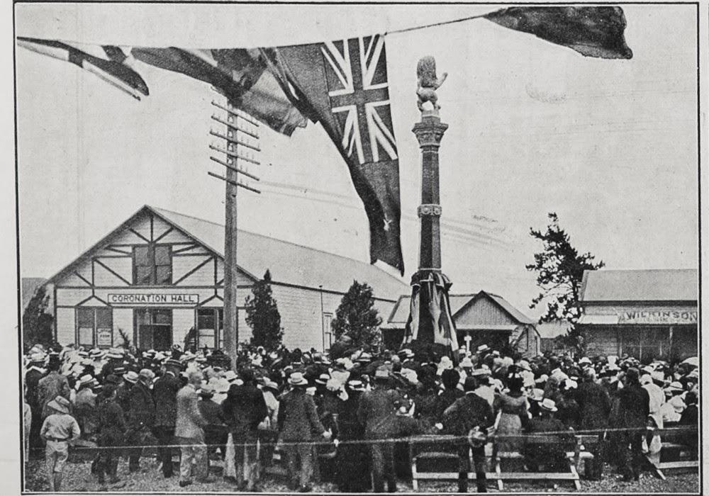 The Waipu Settlers Monument (1914), New Zealand @Back Roads