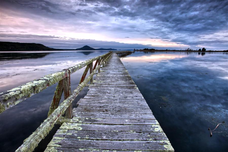 Tokaanu Wharf, Lake Taupo
