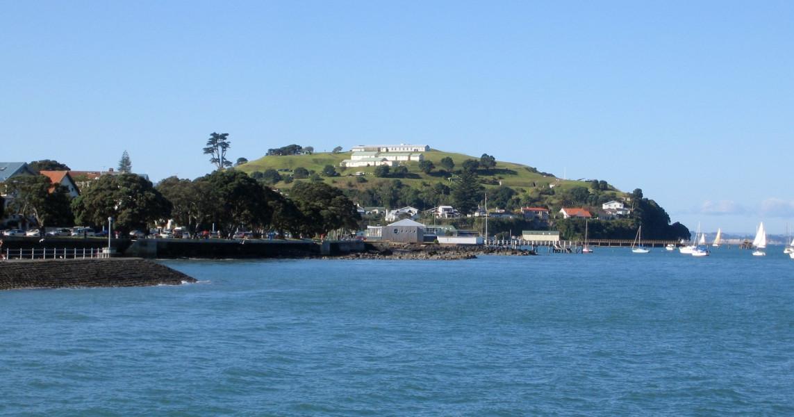Torpedo bay, New Zealand @Wikimedia commons