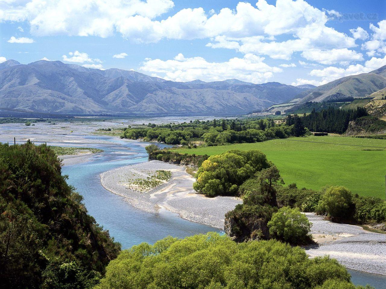 Waiau River, New Zealand @TopGlobus