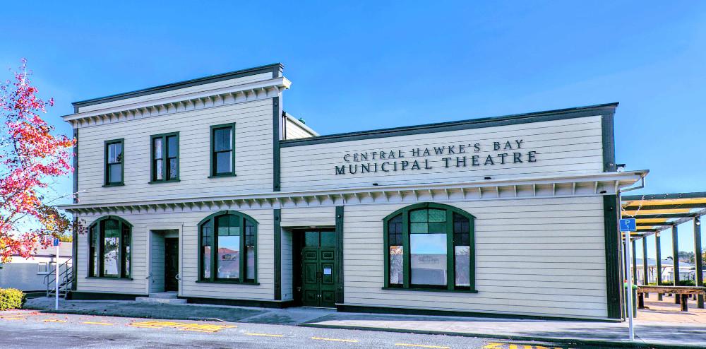 Waipawa heritage Theatre-building-Hawkes Bay, New Zealand