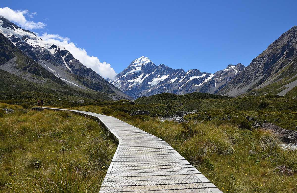 Walks in Aoraki Mount Cook, New Zealand @Aoraki Alpine Lodge