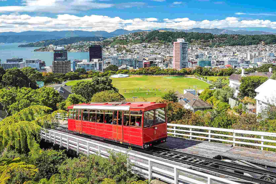 The most famous landmark in WellingtonThe most famous landmark in Wellington, New Zealand