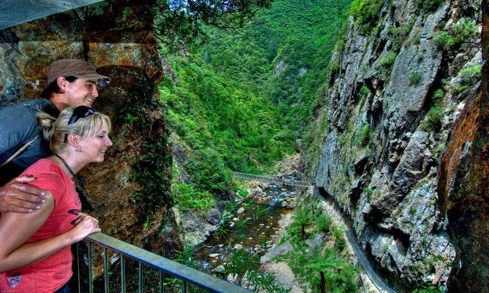 Windows Walk, Karangahake Gorge, Kaimai Mamaku Conservation Park, New Zealand @Andy Belcher