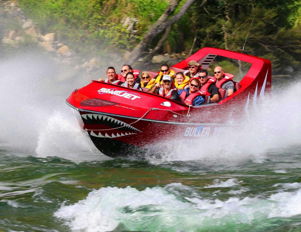 Buller Canyon Jet Ride,New Zealand @Buller Canyon Jet Reservations