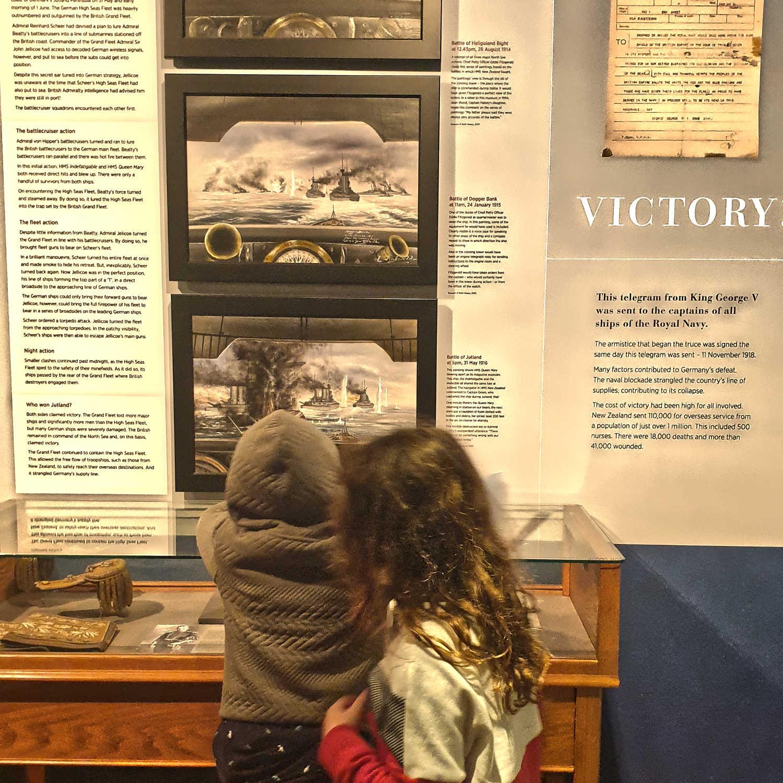 Devenport Naval Museum children's exploration,New Zealand