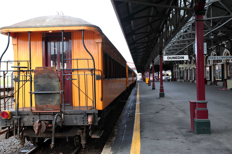 Dunedin Railway Station Museum,New Zealand