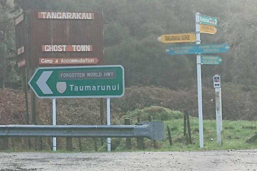 Ghost town @whangamomonaaccommodation