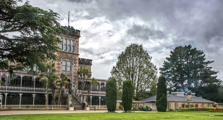 Larnach Castle in Dunedin, New Zealand