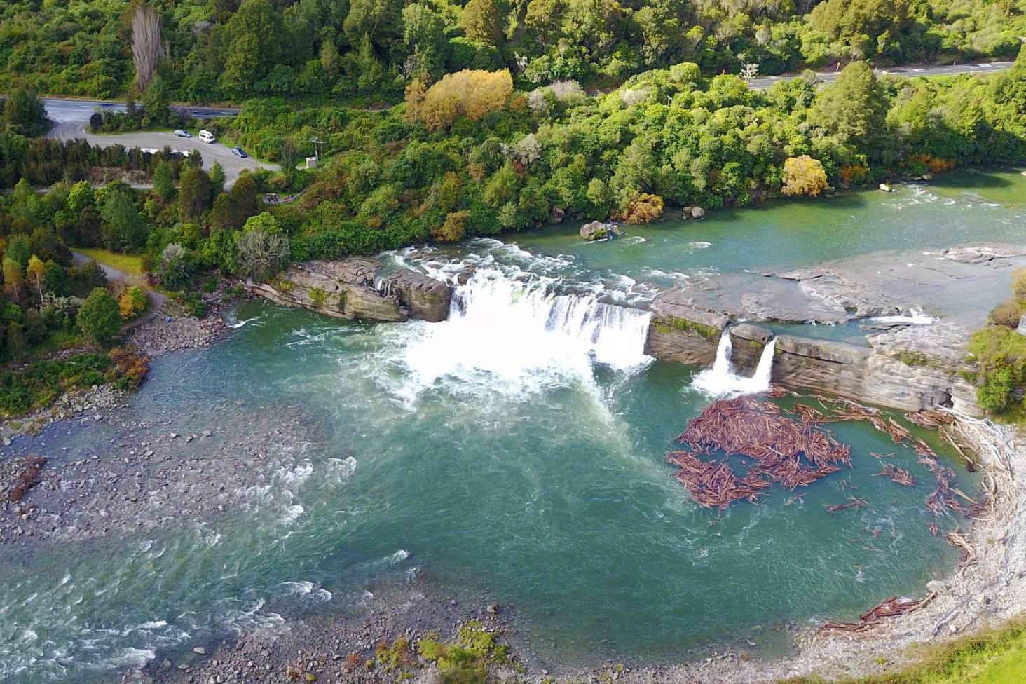 Maruia Falls,New Zealand @Stuff