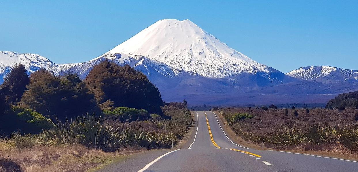 Mount Ngauruhoe Tongariro National Park, New Zealand