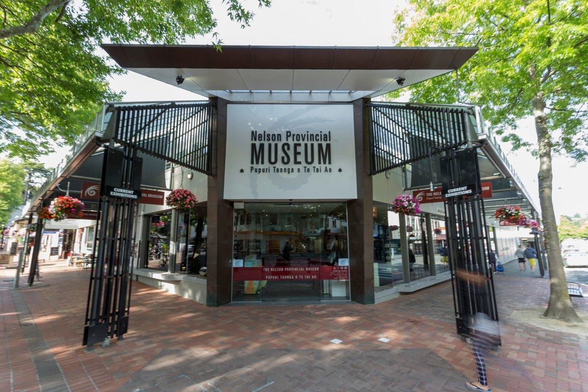 Nelson Provincial Museum, New Zealand @NelsonMuseumNZ