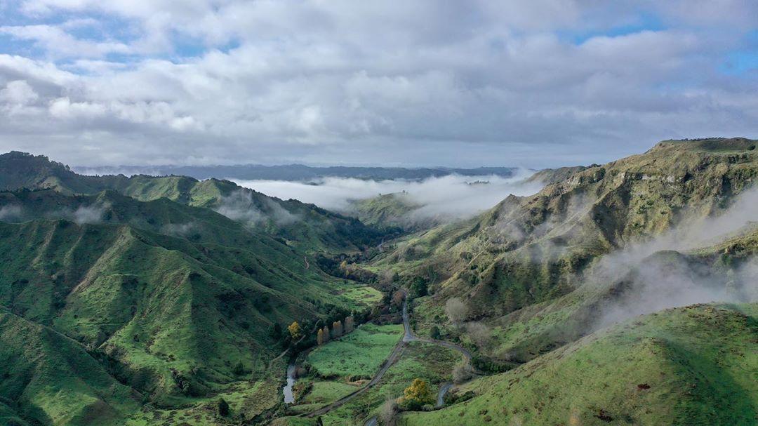 Ohura scenery between Ohura and SH43, New Zealand @laz2173