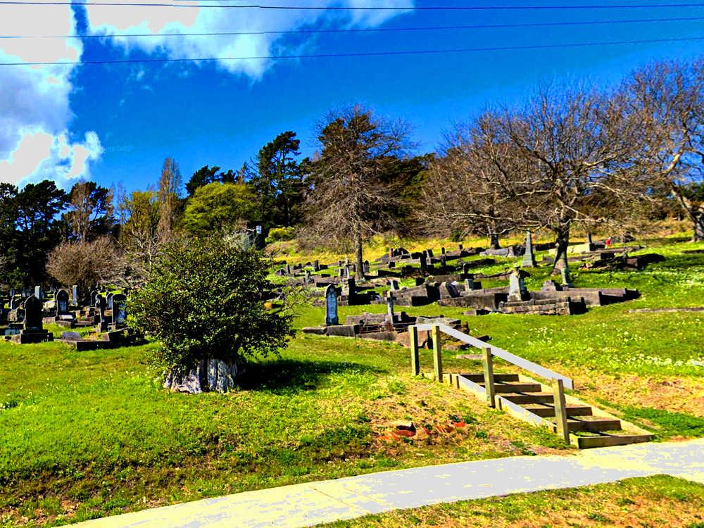 Shortland Cemetery, Thames, New Zealand @Interment