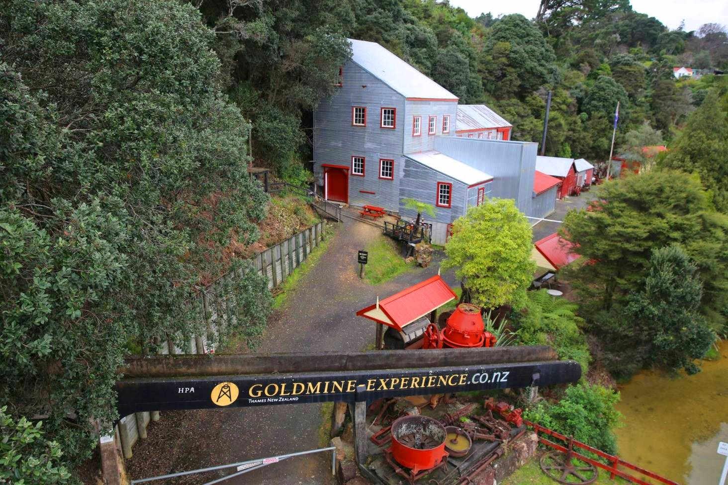 Thames Gold Mine,New Zealand @Stuff