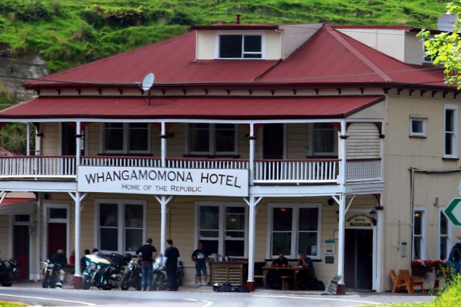 Wangamomona Hotel, New Zealand