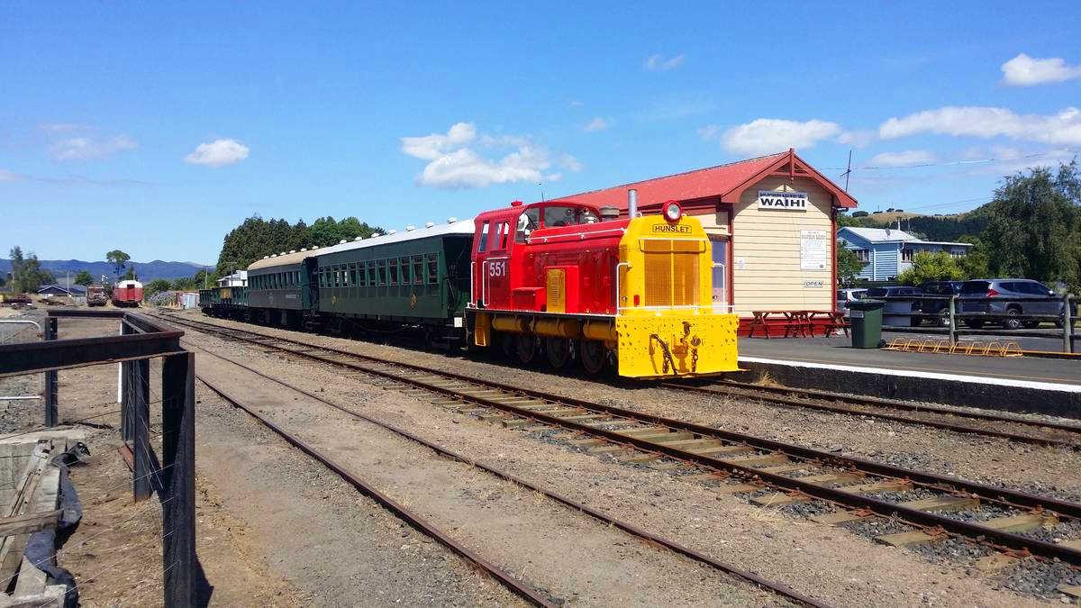 Working Historic Railway, Waihi, New Zealand @NZ Herald