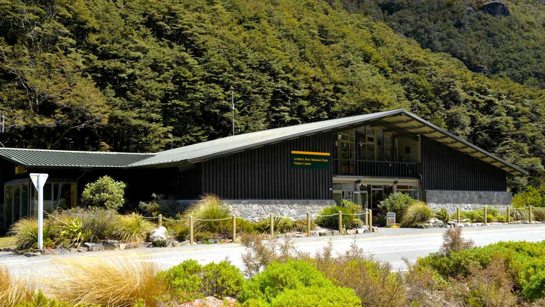 Arthur's Pass Visitor Centre,New Zealand @Arthur's Pass Café