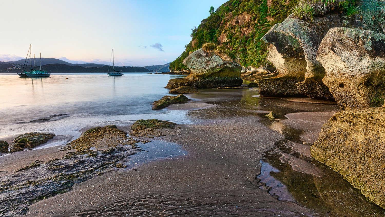Cooks beach,New Zealand @GoodFon
