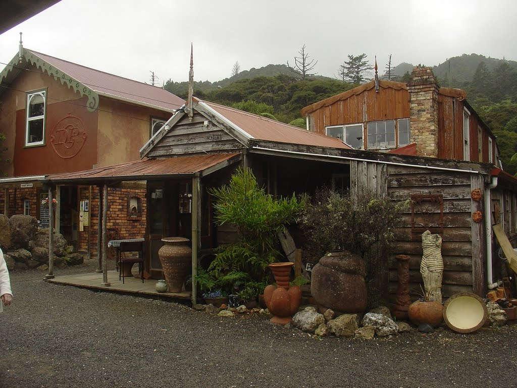 Driving Creek Railway and Potteries,Coromandel,New Zealand @Mapio.net