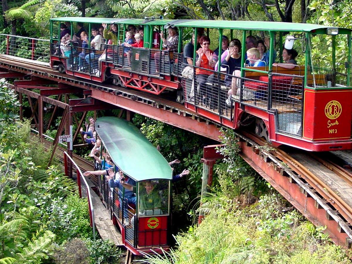 Driving Creek Railway and Potteries,Coromandel,New Zealand @The Coromandel