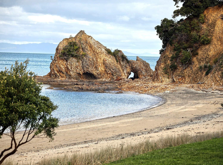 Ladies Beach, Rotoroa Island, New Zealand