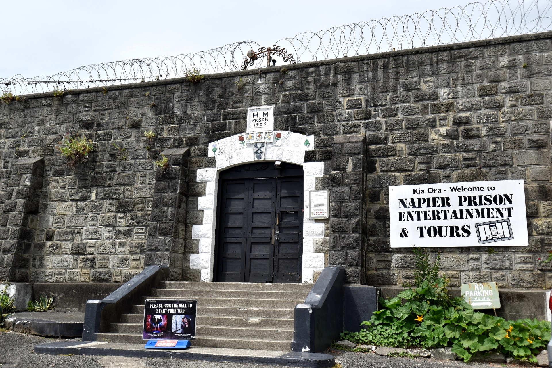 Napier Prison, Bluff Hill, Napier,New Zealand @NZ Herald