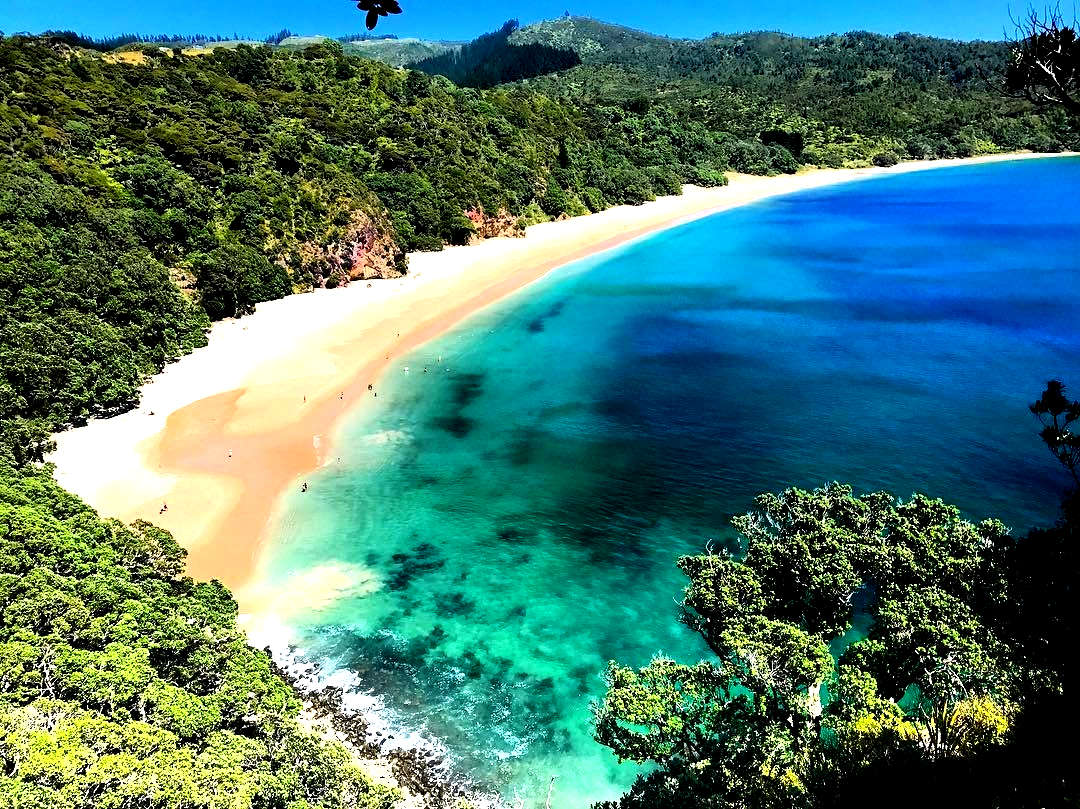 New Chums Beach,New Zealand @The Coromandel