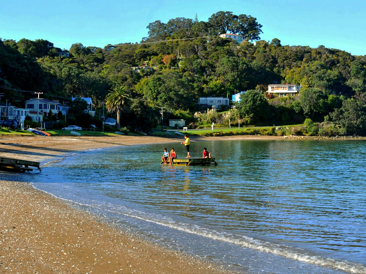 Oamaru Bay,New Zealand @The Coromandel