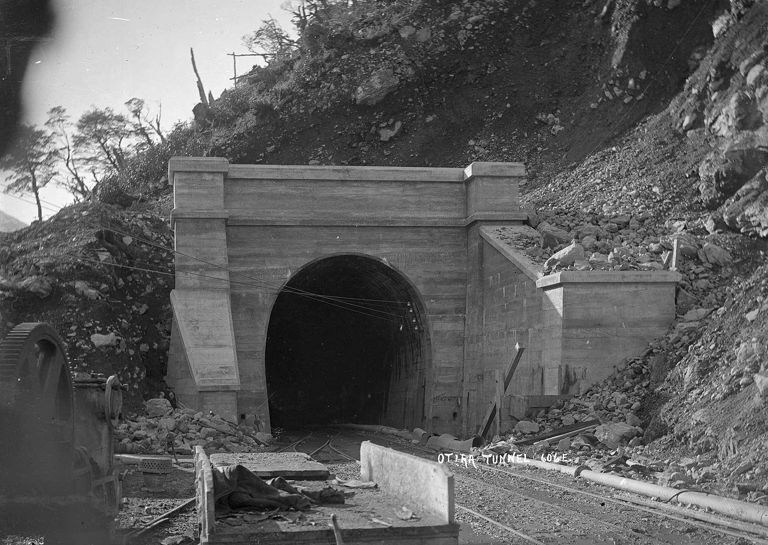 Otira Tunnel,New Zealand @William Archer Price