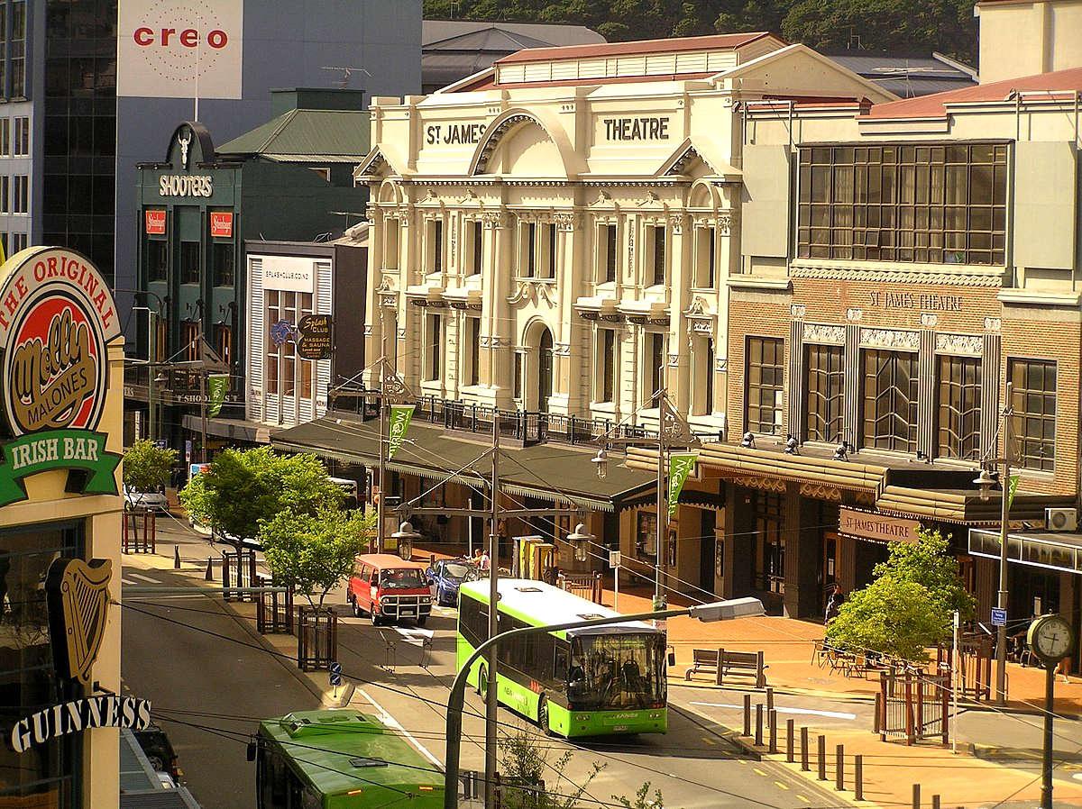 St. James Theatre, Wellington,New Zealand @Bruce. staples