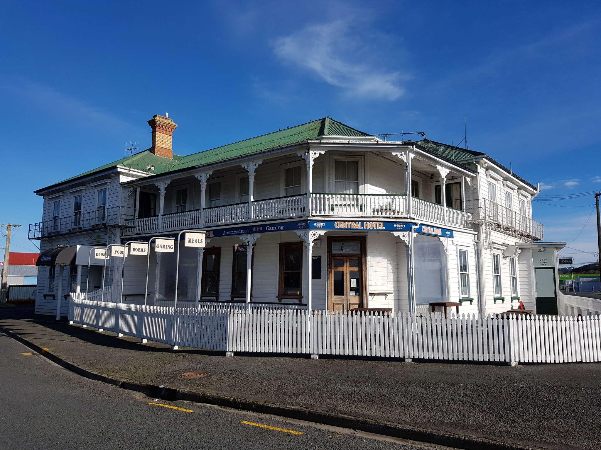 The Central hotel Dargaville,New Zealand @hauntedauckland
