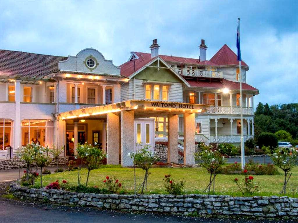 Waitomo Caves Hotel,New Zealand @Agoda