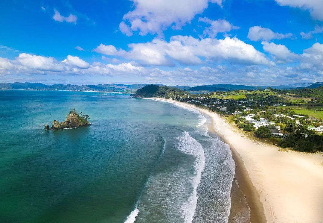 Whanagapoua Beach,Coromandel,New Zealand @droneshotsnz