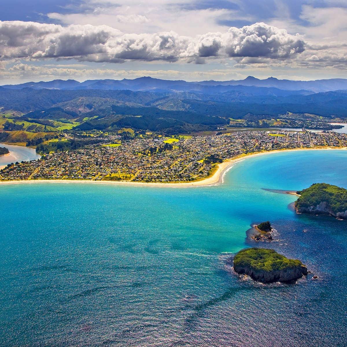 Whangamata Beach,New Zealand @The Coromandel