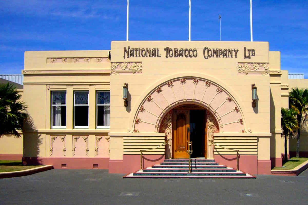 Ahuriri National Tobacco building @Wikiwand