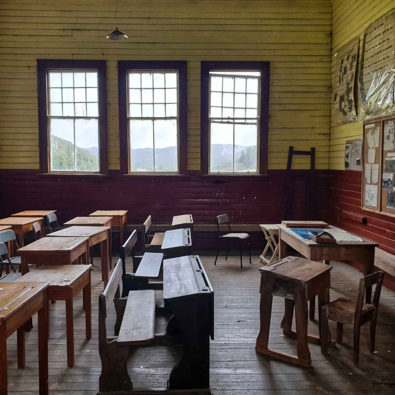 Blackwater School classroom,New Zealand