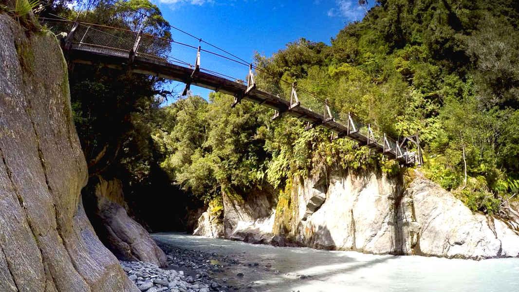 Callery Gorge Bridge, New Zealand @Freewalks