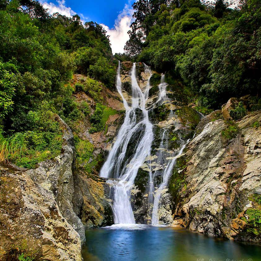 Carew Falls, New Zealand @Degies