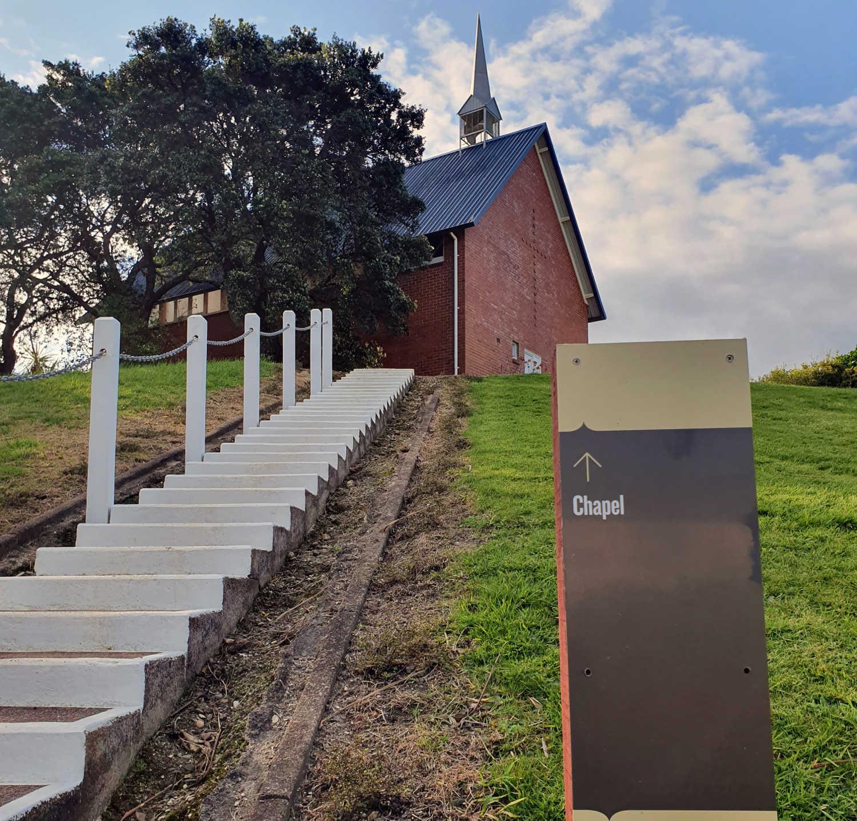 Chapel Rotoroa Island,New Zealand