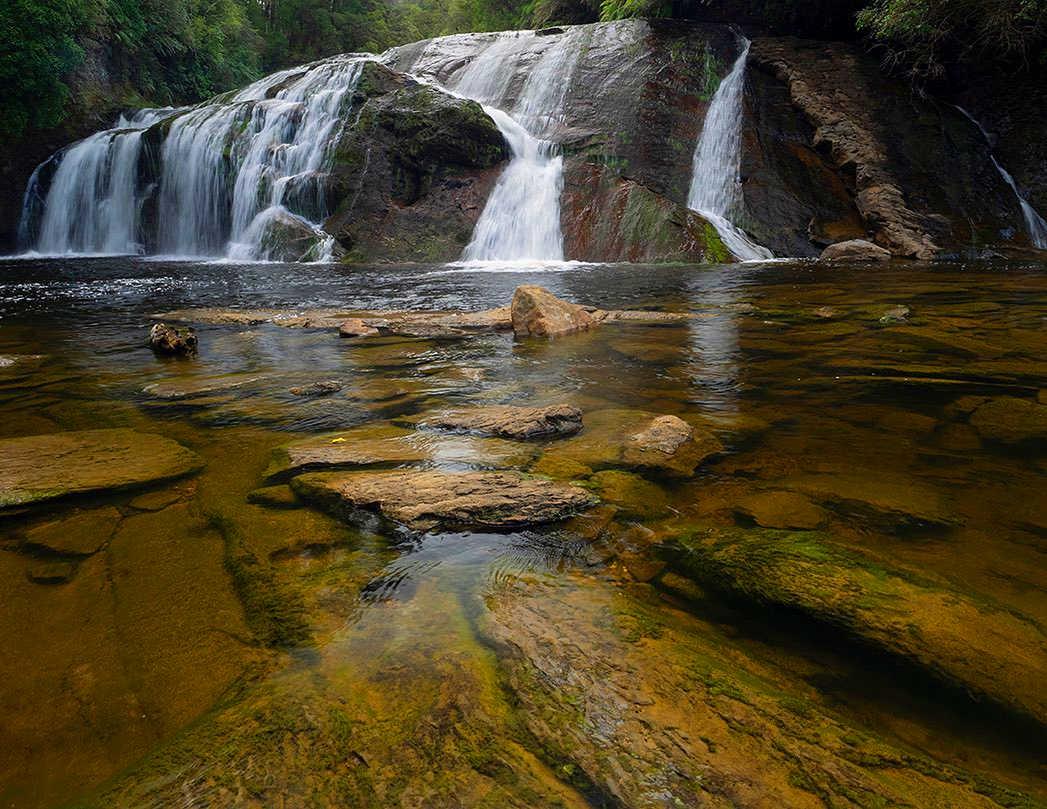 Coal Creek Falls at Runanga, Greymouth,New Zealand @Waynelorimer