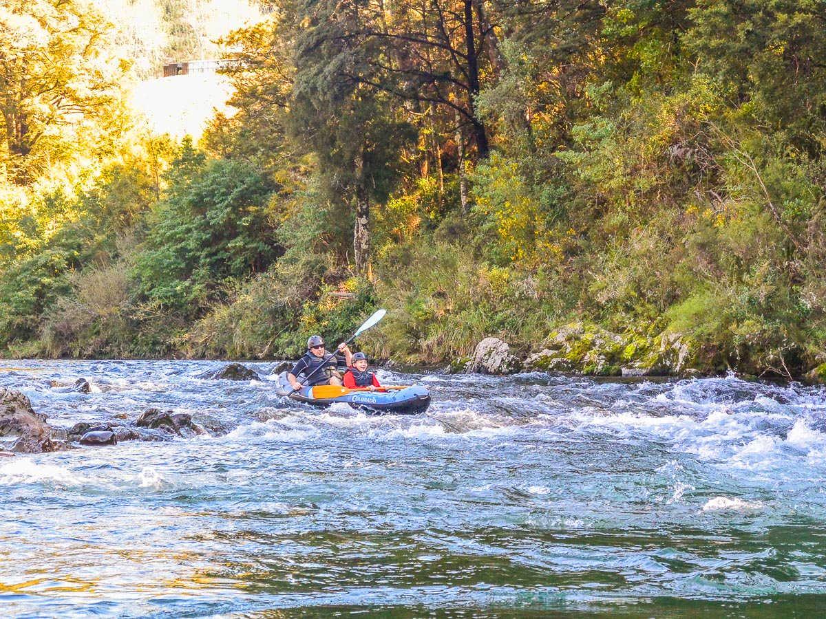 Kayaking at the Pelorus river,New Zealand @Kayak New Zealand