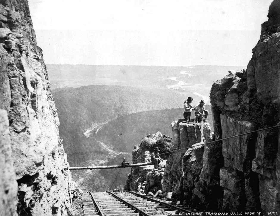 Denniston incline, New Zealand @NZHistory