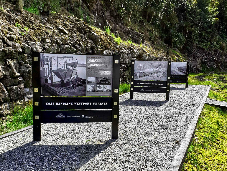 Denniston Plateau plaques, New Zealand