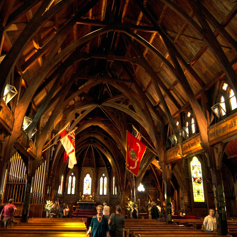 Detour Old St Paul's Gothic Revival architecture 19th century