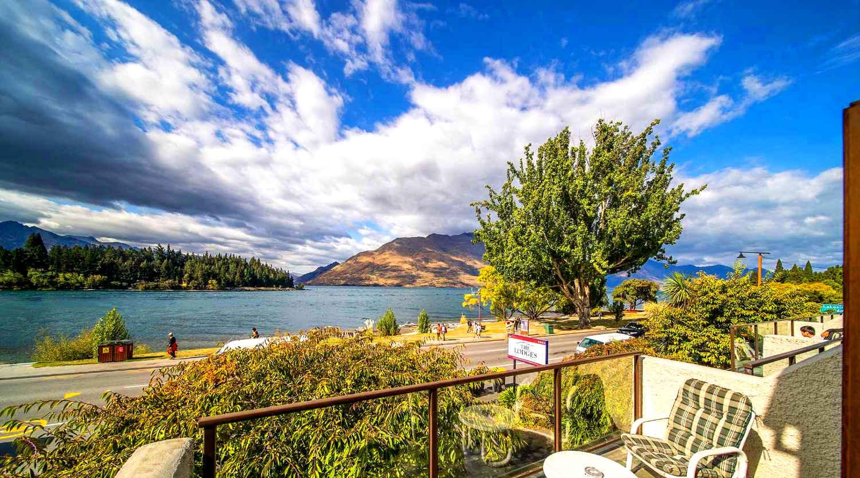 Esplanade lake, New Zealand @harcourtsqueenstown