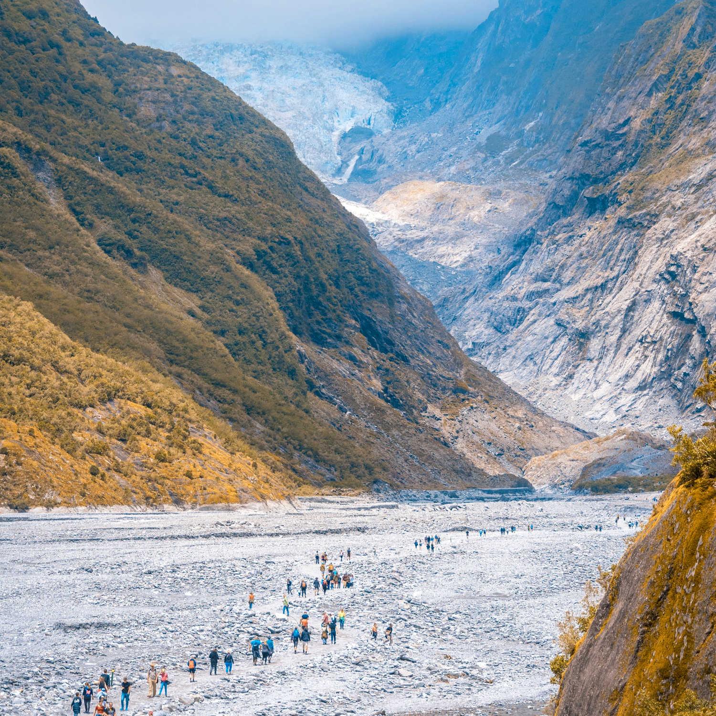 Franz Josef Glacier,New Zealand @sebastiengoldberg
